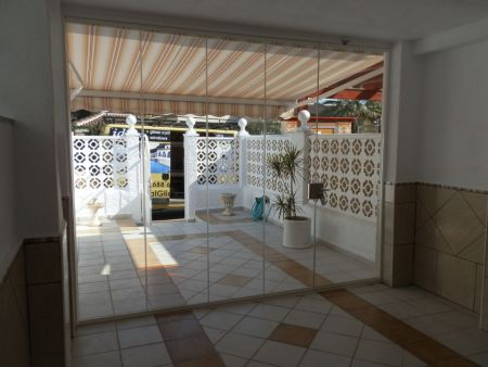 Glass Curtains in Cabo Roig  (Outside view).